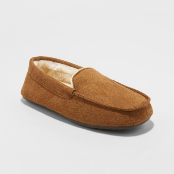 cb0e304d5afa NEW Cat   Jack Moccasin Slippers Faux Suede S 13 1